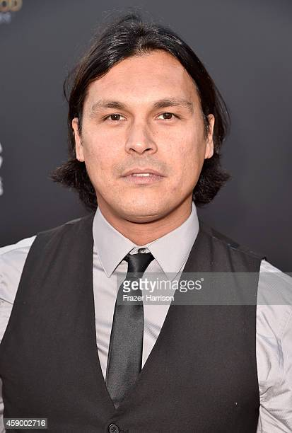 Actor Adam Beach attends the 18th Annual Hollywood Film Awards at The Palladium on November 14 2014 in Hollywood California