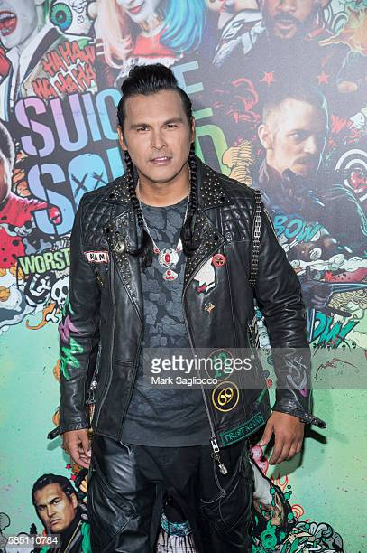 Actor Adam Beach attends the 'Suicide Squad' World Premiere at The Beacon Theatre on August 1 2016 in New York City