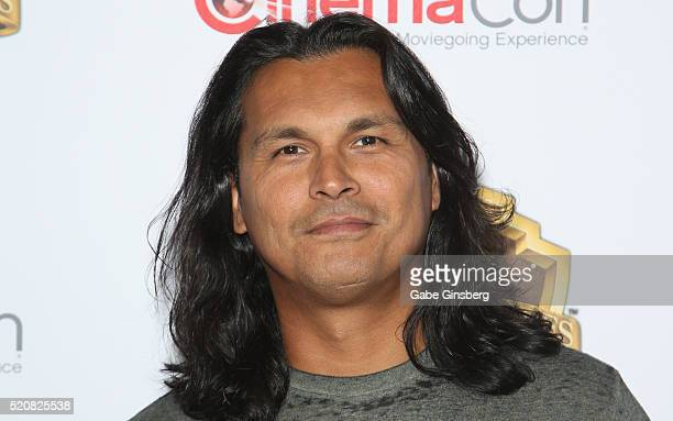 Actor Adam Beach attends Warner Bros Pictures' 'The Big Picture' an exclusive presentation highlighting the summer of 2016 and beyond at The...