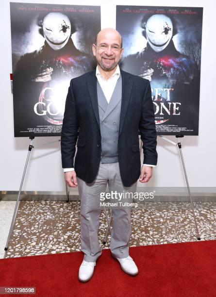 Actor Adam Bitterman attends the premiere of Get Gone at Arena Cinelounge on January 24 2020 in Hollywood California