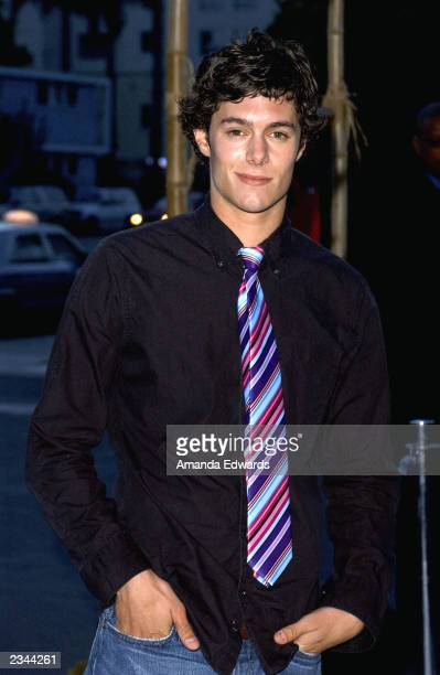 Actor Adam Brody arrives at The OC kickoff party at the Viceroy on July 29 2003 in Santa Monica California