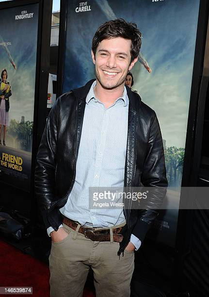 Actor Adam Brody arrives at the premiere of 'Seeking a Friend for the End of the World' at the 2012 Los Angeles Film Festival held at Regal Cinemas...