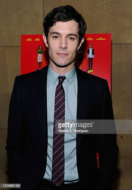 Actor Adam Brody arrives to the Premiere of Sony Pictures Classics' Damsels In Distress at the Egyptian Theatre on March 21 2012 in Hollywood...