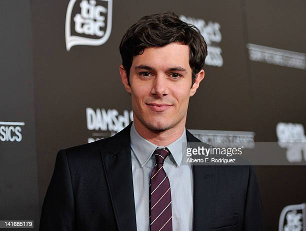 Actor Adam Brody arrives to the Premiere of Sony Pictures Classics' 'Damsels In Distress' at the Egyptian Theatre on March 21 2012 in Hollywood...