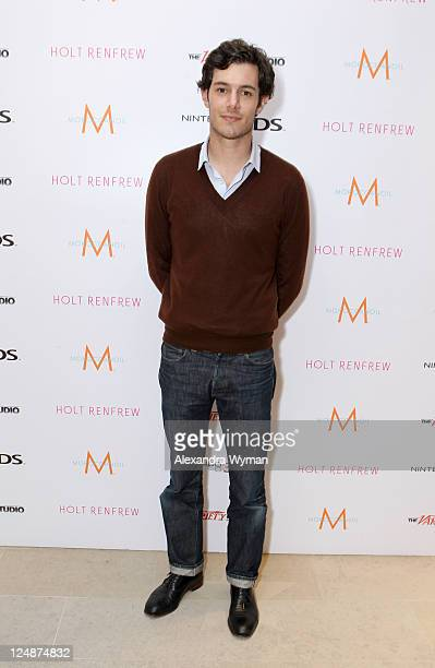 Actor Adam Brody attends day 4 of The Variety Studio At Holt Renfrew during the 2011 Toronto International Film Festival on September 13 2011 in...