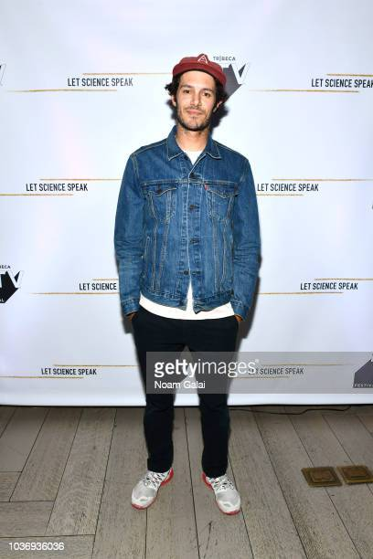 Actor Adam Brody attends 'Let Science Speak' Tribeca screening at Spring Studio on September 20 2018 in New York City The sixpart series of short...