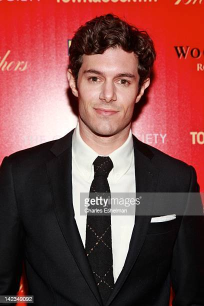 Actor Adam Brody attends The Cinema Society with Town Country and Brooks Brothers screening of Damsels in Distress at the Tribeca Grand Screening...