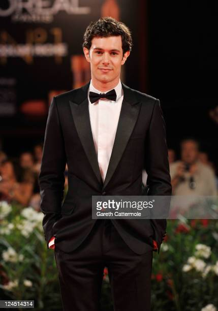 Actor Adam Brody attends the 'Damsels In Distress' premiere and closing ceremony during the 68th Venice Film Festival at Palazzo del Cinema on...