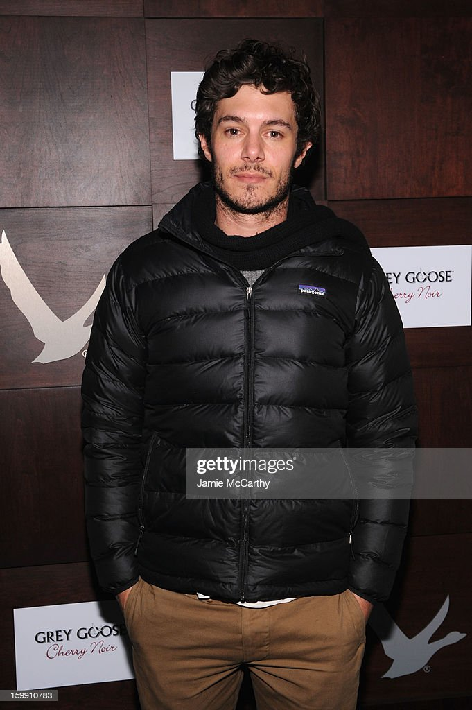 Actor Adam Brody attends the Grey Goose Blue Door 'Lovelace' Party on January 22, 2013 in Park City, Utah.