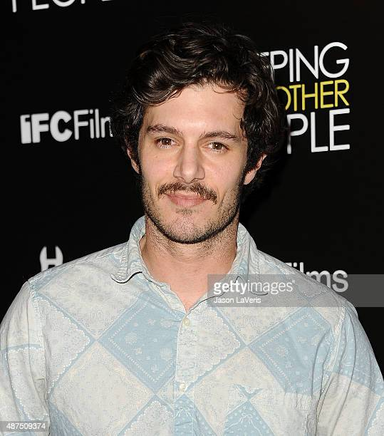 Actor Adam Brody attends the premiere of 'Sleeping With Other People' at ArcLight Cinemas on September 9 2015 in Hollywood California