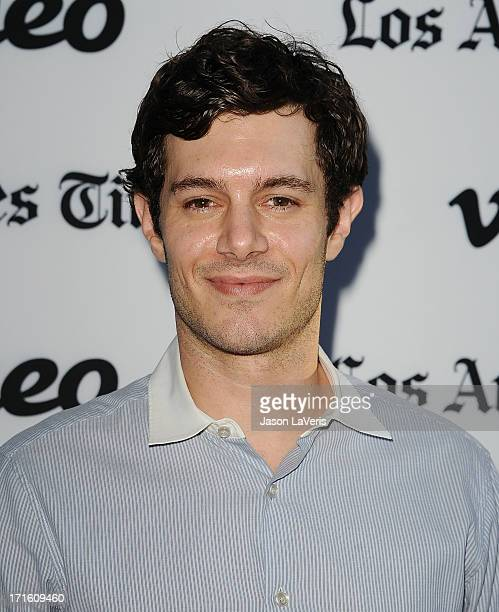 """Actor Adam Brody attends the premiere of """"Some Girl"""" at Laemmle NoHo 7 on June 26, 2013 in North Hollywood, California."""