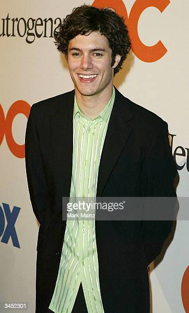 Actor Adam Brody attends the Season Finale Party for The OC at Falcon April 20 2004 in Los Angeles California