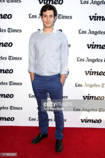 Actor Adam Brody attends the Some Girl Los Angeles premiere held at Laemmle NoHo 7 on June 26 2013 in North Hollywood California