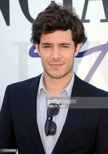 Actor Adam Brody visits the Lancia Cafe during the 68th Venice Film Festival on September 9 2011 in Venice Italy