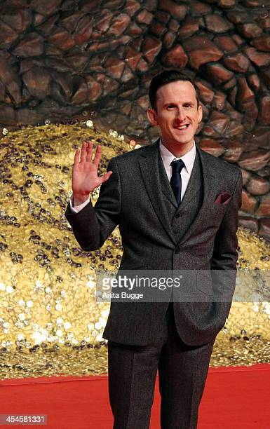 """Actor Adam Brown attends the """"The Hobbit: The Desolation of Smaug"""" European Premiere at Cinestar on December 9, 2013 in Berlin, Germany."""
