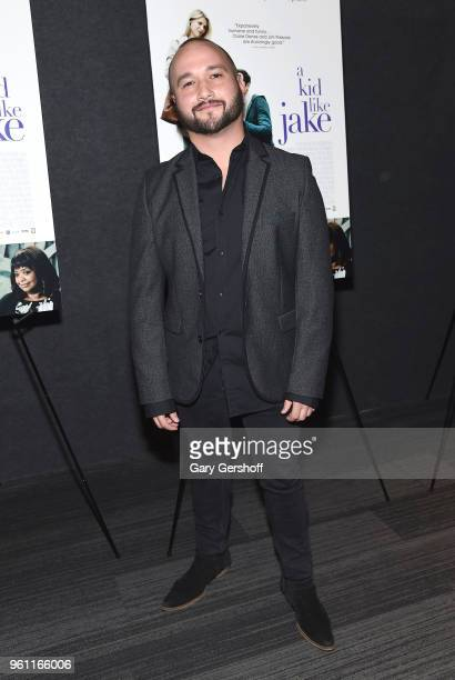 Actor Adam Butterfield attends 'A Kid Like Jake' New York premiere at The Landmark at 57 West on May 21 2018 in New York City