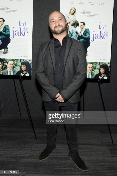 Actor Adam Butterfield attends the A Kid Like Jake New York Premiere at The Landmark at 57 West on May 21 2018 in New York City
