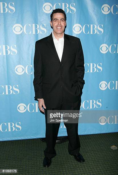 Actor Adam Carolla arrives at the 2008 CBS UpFront at Carnegie Hall on May 14 2008 in New York City