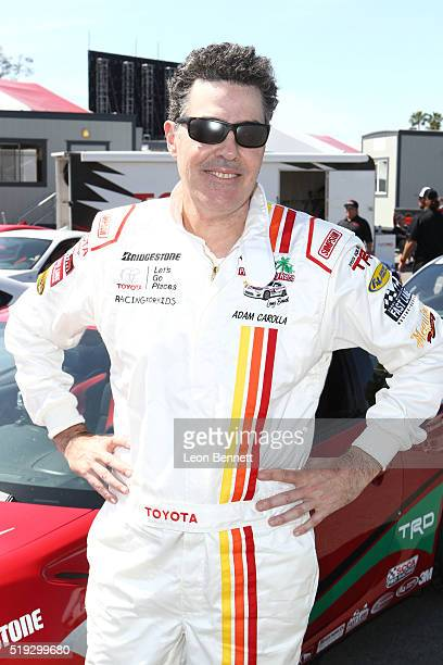 Actor Adam Carolla attends the 42nd Toyota Grand Prix of Long Beach Press Day on April 5 2016 in Long Beach California