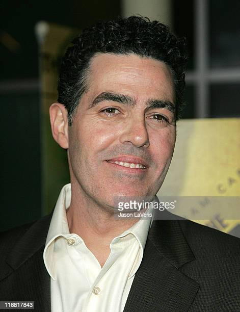 Actor Adam Carolla attends the Los Angeles Premiere of 'The Hammer' at the Arclight on March 19 2008 in Los Angeles California