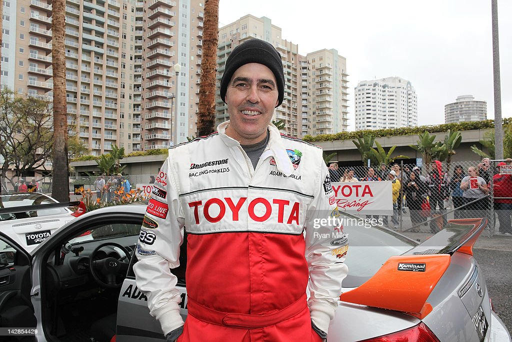 Actor Adam Corolla attends the 36th Annual Toyota Pro/Celebrity Race - Press Practice Day of the Toyota Grand Prix of Long Beach on April 13, 2012 in Long Beach, California.