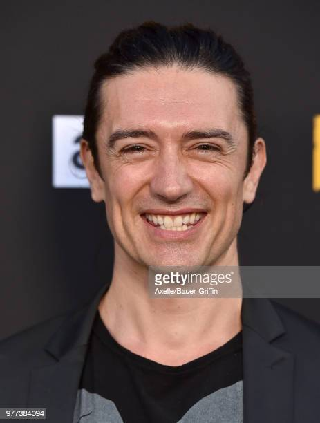 Actor Adam Croasdell arrives at AMC's 'Preacher' Season 3 Premiere Party at The Hearth and Hound on June 14 2018 in Los Angeles California