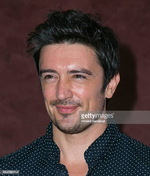 Actor Adam Croasdell attends the Los Angeles premiere of 'Duality' at Landmark Theatre on September 3 2014 in Los Angeles California
