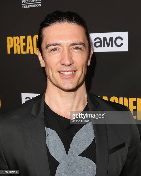 Actor Adam Croasdell attends the premiere of AMC's 'Preacher' Season 3 on June 14 2018 in Los Angeles California