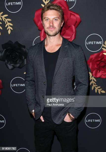 Actor Adam Demos attends the AntiValentine's bash for premieres of UnREAL And Mary Kills People at Eveleigh on February 13 2018 in West Hollywood...