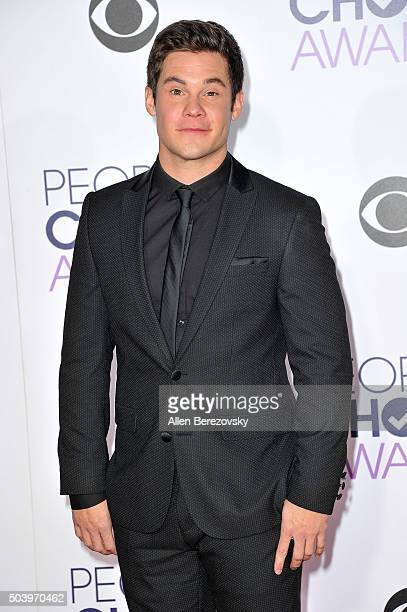 Actor Adam DeVine arrives at the People's Choice Awards 2016 at Microsoft Theater on January 6 2016 in Los Angeles California