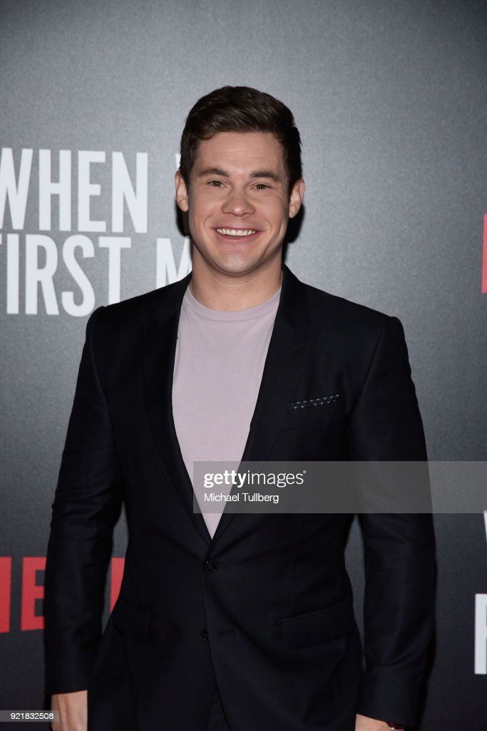 Actor Adam Devine attends a special screening of Netflix's 'When We First Met' at ArcLight Hollywood on February 20, 2018 in Hollywood, California.