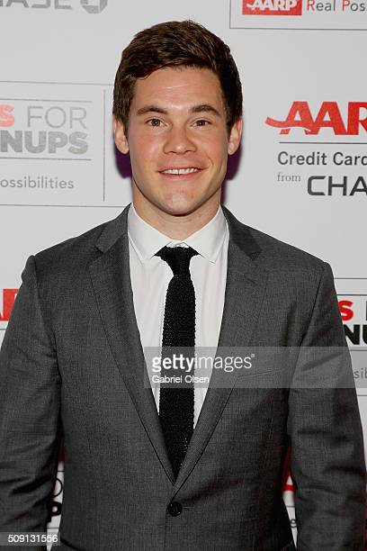 Actor Adam DeVine attends AARP's Movie For GrownUps Awards at the Beverly Wilshire Four Seasons Hotel on February 8 2016 in Beverly Hills California