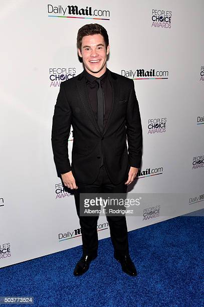 Actor Adam DeVine attends DailyMail's after party for 2016 People's Choice Awards at Club Nokia on January 6 2016 in Los Angeles California