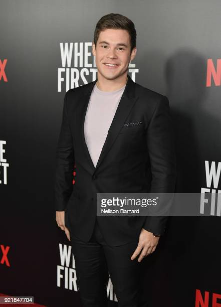 Actor Adam DeVine attends Special Screening Of Netflix Original Film' 'When We First Met' at ArcLight Theaters at ArcLight Hollywood on February 20...