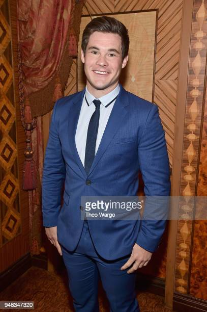 Actor Adam Devine attends the Biden Courage Awards Presented by It's On Us at the Russian Tea Room on April 18 2018 in New York City