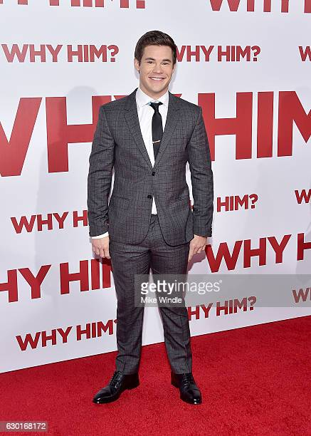 Actor Adam Devine attends the premiere of 20th Century Fox's Why Him at Regency Bruin Theater on December 17 2016 in Westwood California