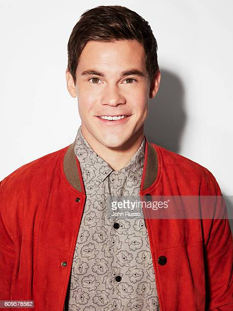 Actor Adam DeVine is photographed for 20th Century Fox on May 26 2016 in Los Angeles California