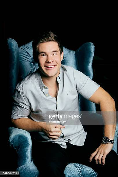 Actor Adam DeVine is photographed for Los Angeles Times on June 30 2016 in Los Angeles California PUBLISHED IMAGE CREDIT MUST READ Francine Orr/Los...