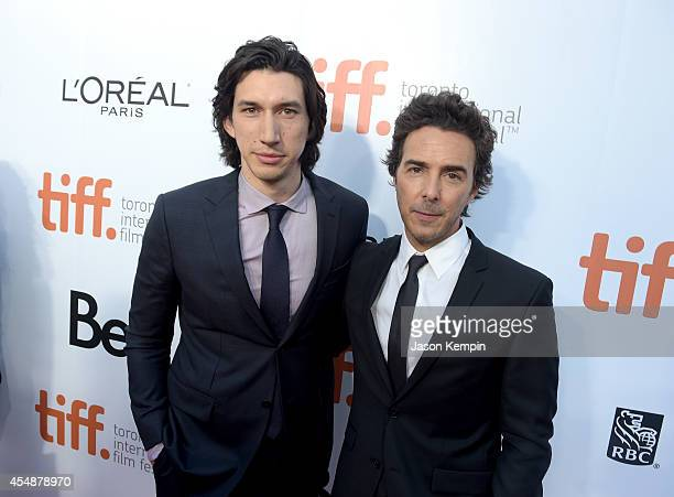 Actor Adam Driver and director Shawn Levy attend the 'This Is Where I Leave You' premiere during the 2014 Toronto International Film Festival at Roy...