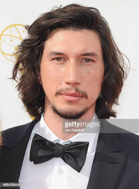 Actor Adam Driver arrives at the 67th Annual Primetime Emmy Awards at Microsoft Theater on September 20 2015 in Los Angeles California