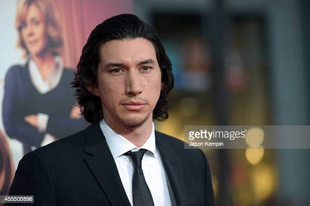 Actor Adam Driver arrives at the premiere of Warner Bros Pictures' This Is Where I Leave You at TCL Chinese Theatre on September 15 2014 in Hollywood...