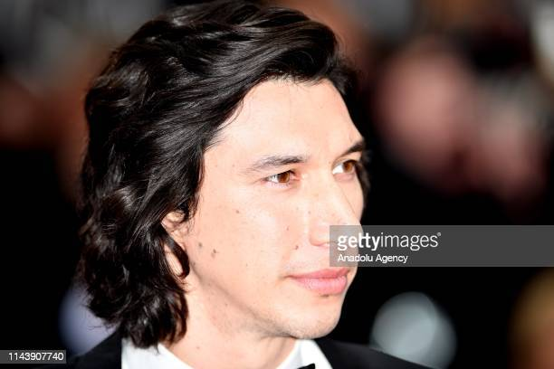 US actor Adam Driver arrives for the screening of the film The Dead Don't Die' and the Opening Ceremony at the 72nd annual Cannes Film Festival in...