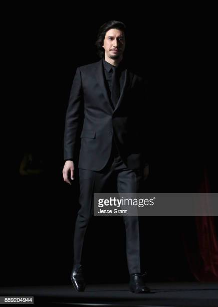 Actor Adam Driver at Star Wars The Last Jedi Premiere at The Shrine Auditorium on December 9 2017 in Los Angeles California