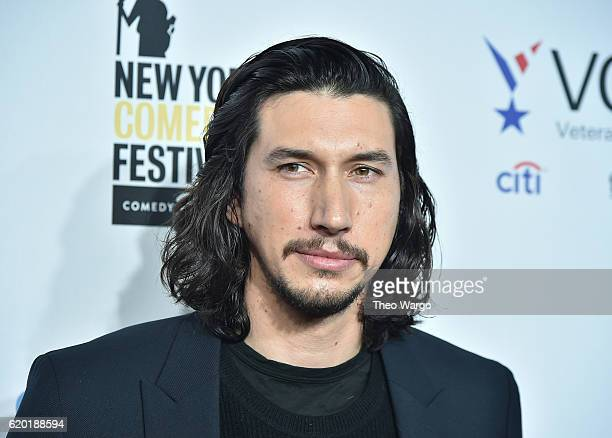 Actor Adam Driver attends 10th Annual Stand Up For Heroes at The Theater at Madison Square Garden on November 1 2016 in New York City