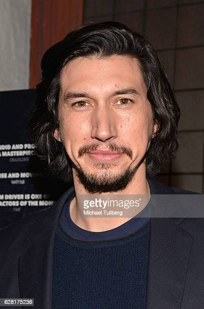 Actor Adam Driver attends a screening of Amazon Studios' 'Paterson' at the Vista Theatre on December 6 2016 in Los Angeles California