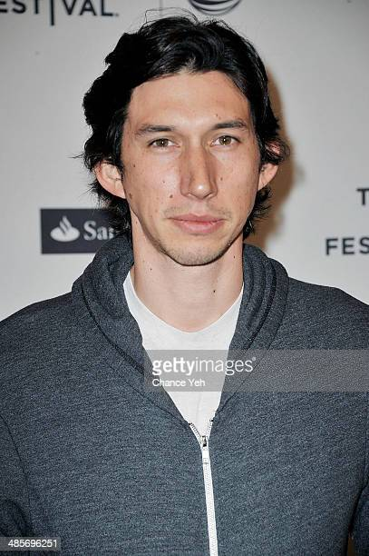 Actor Adam Driver attends Ballet 422 premiere during the 2014 Tribeca Film Festival at SVA Theater on April 19 2014 in New York City