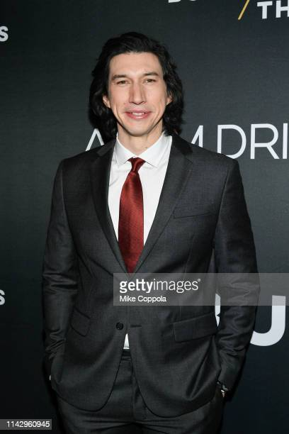 Actor Adam Driver attends Burn This opening night at Hudson Theatre on April 15 2019 in New York City