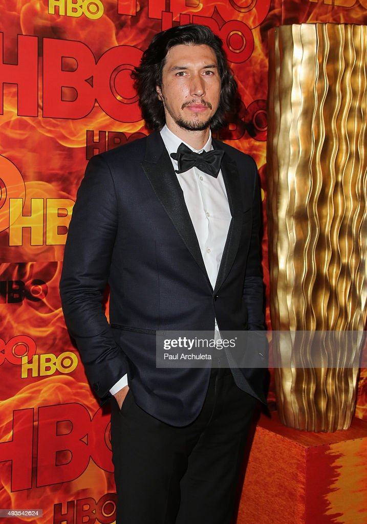 Actor Adam Driver attends HBO's Official 2015 Emmy After Party at The Plaza at the Pacific Design Center on September 20, 2015 in Los Angeles, California.