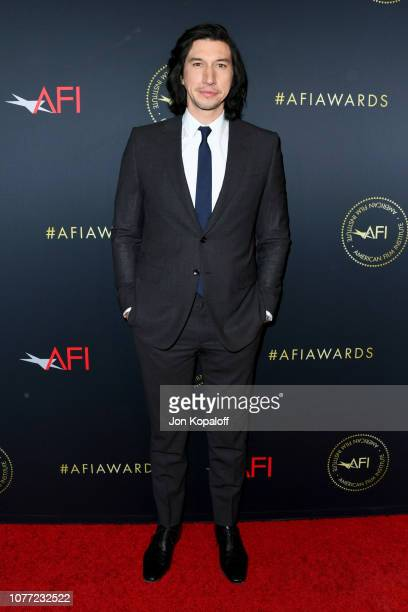 Actor Adam Driver attends the 19th Annual AFI Awards at Four Seasons Hotel Los Angeles at Beverly Hills on January 4 2019 in Los Angeles California