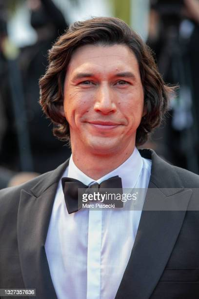 """Actor Adam Driver attends the """"Annette"""" screening and opening ceremony during the 74th annual Cannes Film Festival on July 06, 2021 in Cannes, France."""